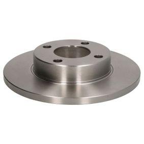 ABE Bremsscheibe C3A001ABE für AUDI 100 (44, 44Q, C3) 1.8 ab Baujahr 02.1986, 88 PS
