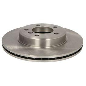 Bremsscheibe Bremsscheibendicke: 22mm, Lochanzahl: 5, Ø: 300mm mit OEM-Nummer 34 116 766 224
