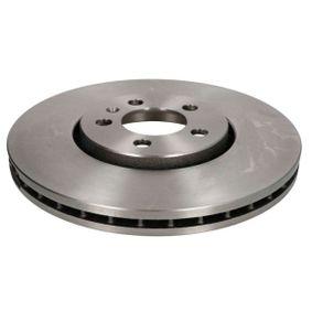 Bremsscheibe Bremsscheibendicke: 25mm, Felge: 5-loch, Ø: 288mm mit OEM-Nummer 1J0615301S