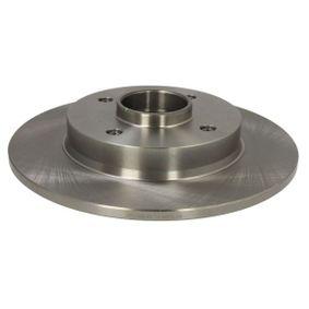 Bremsscheibe Bremsscheibendicke: 9mm, Ø: 249mm mit OEM-Nummer 424934