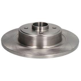 ABE Disco de travão C4R021ABE com códigos OEM 7701206328