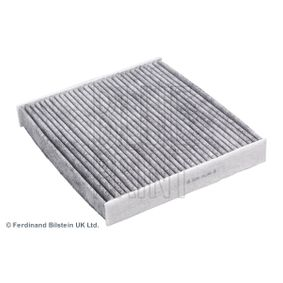 BLUE PRINT  ADT32522 Filter, interior air Length: 194mm, Width: 215,0mm, Height: 29mm