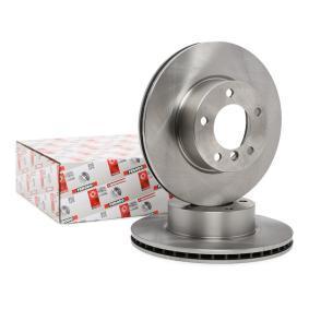 Bremsscheibe Bremsscheibendicke: 24mm, Lochanzahl: 5, Ø: 300mm mit OEM-Nummer 34116854998