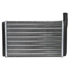THERMOTEC Wärmetauscher, Innenraumheizung D6W003TT für AUDI 80 (81, 85, B2) 1.8 GTE quattro (85Q) ab Baujahr 03.1985, 110 PS