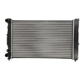 Wasserkühler VW PASSAT Variant (3B6) 1.9 TDI 130 PS ab 11.2000 THERMOTEC Kühler, Motorkühlung (D7A008TT) für