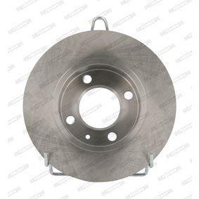 Bremsscheibe Bremsscheibendicke: 9mm, Lochanzahl: 4, Ø: 232mm mit OEM-Nummer 1J0 615 601 Q