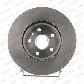 Bremsscheibe Bremsscheibendicke: 26mm, Lochanzahl: 5, Ø: 276mm mit OEM-Nummer 13502824