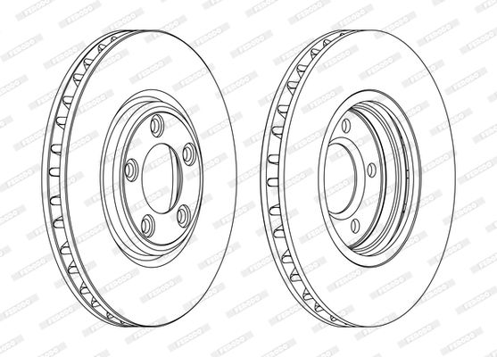 Brake Rotors FERODO DDF1107 rating