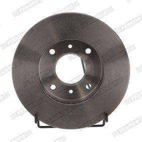 Bremsscheibe Bremsscheibendicke: 22mm, Lochanzahl: 4, Ø: 256mm mit OEM-Nummer 40206-71E00