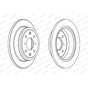 Спирачен диск DDF468 25 Хечбек (RF) 2.0 iDT Г.П. 1999