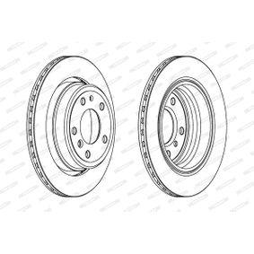 Bremsscheibe Bremsscheibendicke: 20mm, Lochanzahl: 5, Ø: 300mm mit OEM-Nummer 3421 1 159 659