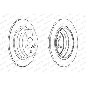 Brake Disc Brake Disc Thickness: 10mm, Num. of holes: 5, Ø: 300mm with OEM Number S5171 22K100
