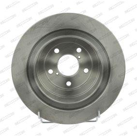 Bremsscheibe Bremsscheibendicke: 10mm, Lochanzahl: 5, Ø: 290mm mit OEM-Nummer 26700AE070