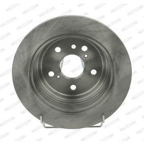 Bremsscheibe Bremsscheibendicke: 12mm, Lochanzahl: 5, Ø: 291mm mit OEM-Nummer 4243128090