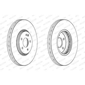 Bremsscheibe Bremsscheibendicke: 32mm, Lochanzahl: 5, Ø: 330mm mit OEM-Nummer 210 421 23 12