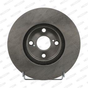 Disco de freno Ø: 275mm, ventilado DDF1461
