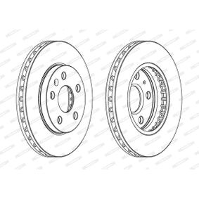 Bremsscheibe Bremsscheibendicke: 30mm, Lochanzahl: 5, Ø: 296mm mit OEM-Nummer 13502213