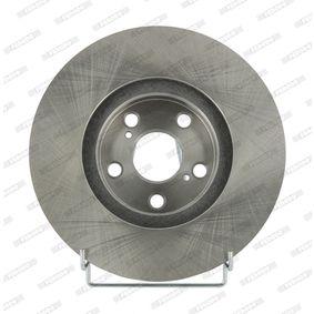 Disque de frein Epaisseur du disque de frein: 25mm, Nbre de trous: 5, Ø: 275mm avec OEM numéro 43512-20710