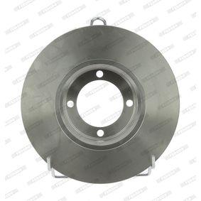 Bremsscheibe Bremsscheibendicke: 11mm, Lochanzahl: 4, Ø: 238mm mit OEM-Nummer 5 69 008