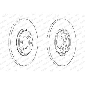 Bremsscheibe Bremsscheibendicke: 12,7mm, Lochanzahl: 4, Ø: 264mm mit OEM-Nummer C 46113