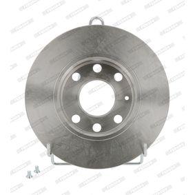 FERODO Disco de travão DDF116 com códigos OEM 93182290