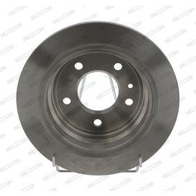 Bremsscheibe Bremsscheibendicke: 10mm, Lochanzahl: 5, Ø: 284mm mit OEM-Nummer 40 20 649 11R