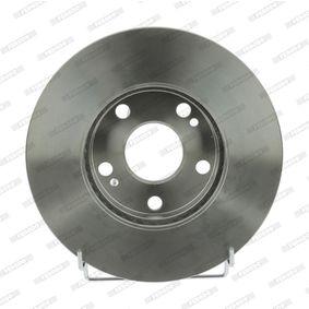 Bremsscheibe Bremsscheibendicke: 22mm, Lochanzahl: 5, Ø: 262mm mit OEM-Nummer 7701 205 841