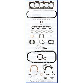 AJUSA Dichtungsvollsatz, Motor 50050600 für AUDI 90 (89, 89Q, 8A, B3) 2.2 E quattro ab Baujahr 04.1987, 136 PS
