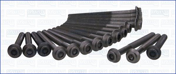 AJUSA  81012500 Zylinderkopfschraubensatz Gewindemaß: M10, Länge: 80mm