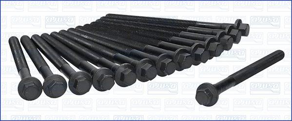 AJUSA  81020000 Zylinderkopfschraubensatz Gewindemaß: M12, Länge: 162mm