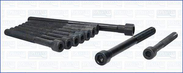 AJUSA  81020800 Zylinderkopfschraubensatz Gewindemaß: M10, Gewindemaß: M12, Länge: 99mm