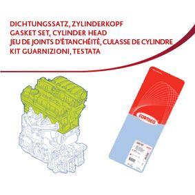 Dichtungssatz, Zylinderkopf mit OEM-Nummer 849 520