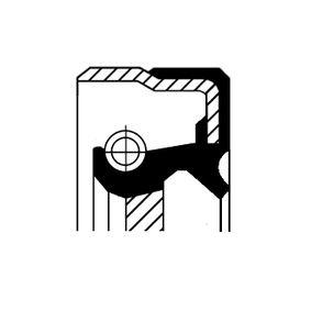 Tesnici krouzek hridele, automaticka prevodovka 01035821B Octa6a 2 Combi (1Z5) 1.6 TDI rok 2009