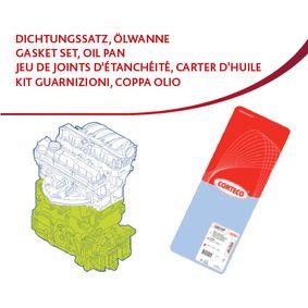 CORTECO Dichtungssatz, Kurbelgehäuse 427249P für AUDI COUPE (89, 8B) 2.3 quattro ab Baujahr 05.1990, 134 PS