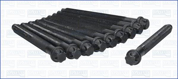 AJUSA  81003000 Juego de tornillos de culata Medida de rosca: M12, Long.: 111mm