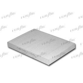 FRIGAIR Filter, Innenraumluft 1310.5391 für AUDI A4 (8E2, B6) 1.9 TDI ab Baujahr 11.2000, 130 PS