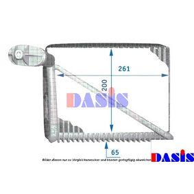 Verdampfer VW PASSAT Variant (3B6) 1.9 TDI 130 PS ab 11.2000 AKS DASIS Verdampfer, Klimaanlage (821200N) für