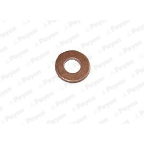Seal, oil drain plug Ø: 20,80mm, Thickness: 2,00mm, Inner Diameter: 10,10mm with OEM Number 1 145 962