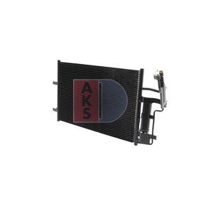 Condensador MAZDA 3 (BK) 1.4 de Año 10.2003 84 CV: Condensador, aire acondicionado (112021N) para de AKS DASIS