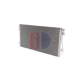 Kondensator, Klimaanlage Netzmaße: 690x376x16 mit OEM-Nummer 7701049665