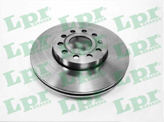 LPR  A1002V Bremsscheibe Bremsscheibendicke: 25mm, Felge: 5-loch, Ø: 288mm
