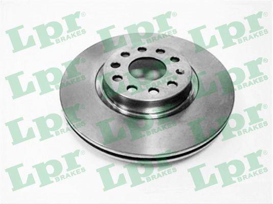 LPR  A1004V Bremsscheibe Bremsscheibendicke: 25mm, Felge: 5-loch, Ø: 312mm