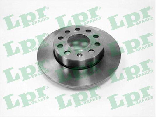 LPR  A1010P Bremsscheibe Bremsscheibendicke: 12mm, Felge: 5-loch, Ø: 256mm