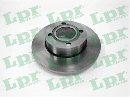 LPR  A1201P Bremsscheibe Bremsscheibendicke: 13mm, Felge: 4-loch, Ø: 256mm