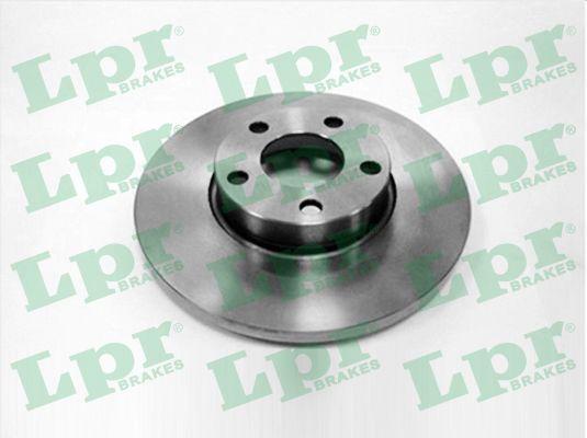 LPR  A1361P Bremsscheibe Bremsscheibendicke: 15mm, Felge: 5-loch, Ø: 288mm
