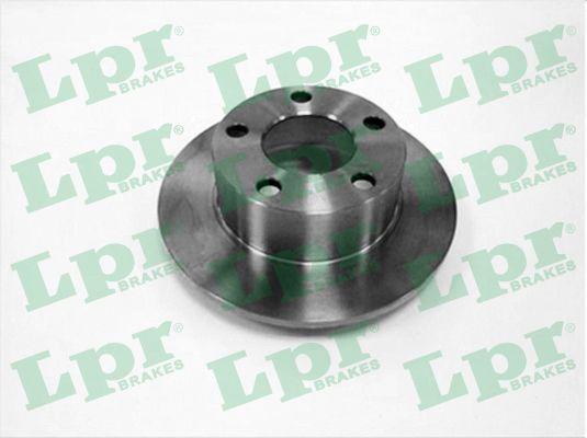 LPR  A1401P Bremsscheibe Bremsscheibendicke: 10mm, Felge: 5-loch, Ø: 245mm