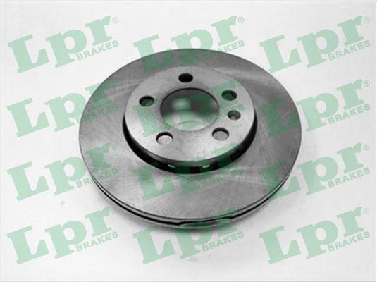 LPR  A1461V Bremsscheibe Bremsscheibendicke: 22mm, Felge: 5-loch, Ø: 256mm
