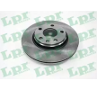 Brake discs and rotors LPR A1491V 3