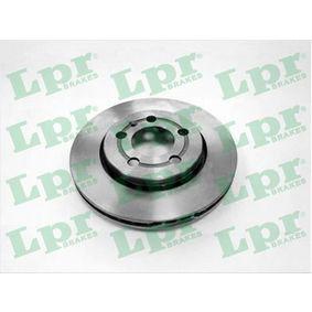 Bremsscheibe Bremsscheibendicke: 22mm, Felge: 5-loch, Ø: 256mm mit OEM-Nummer 8L0 615 601