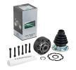 LPR Gelenksatz, Antriebswelle KVW819 für AUDI COUPE (89, 8B) 2.3 quattro ab Baujahr 05.1990, 134 PS
